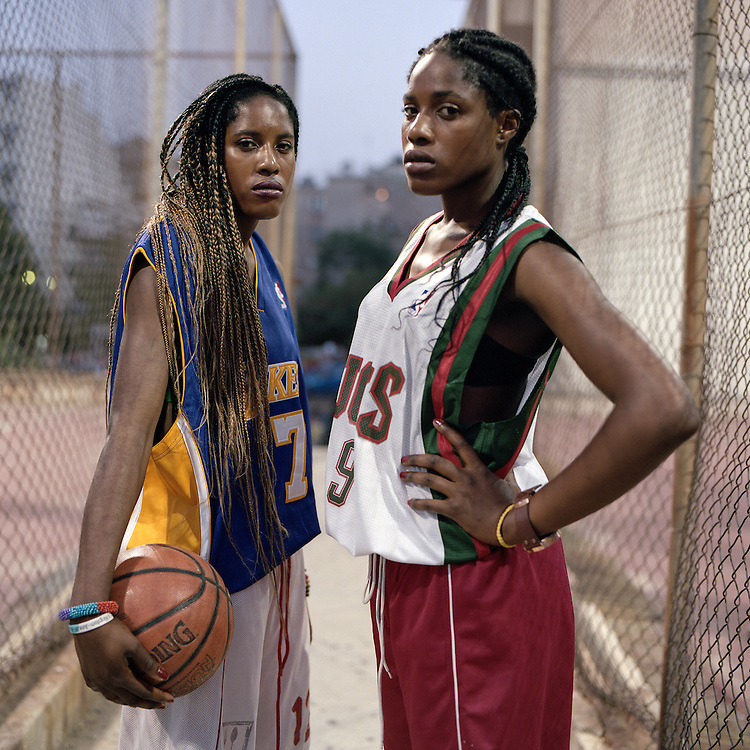 Sofia &amp; Eirini Ukpebor, 20, originates from Nigeria.<br /> <br /> Both born in Greece, students and basketball players.<br /> One of the problems that a child of an immigrant background is facing in Greece is the right in sports. Due to the lack of citizenship, these kids are considered foreigners in the eyes of the law. But even if they manage to issue a sports card, many talents are lost, due to the regulation that allows a specific small number of &quot;foreign&quot; players in each team.<br /> &quot;I took my sport card when I was 17-18 years old,&quot; Sophia says. &quot;For two and a half years I sat on the bench and just looked. I did a lot of patience with basketball. I insisted that it is unfair not to be able to have a sport card. I searched a lot and I found out a law saying that I could get a card since I was born in Greece and I have papers to prove that I live here permanently. It seemed strange and I thought the law was new, but it wasn&rsquo;t. For some reason the law existed but simply it wasn&rsquo;t applied.&quot;<br /> &quot;I don&rsquo;t know another culture beyond the Greek one, but at the same time I can&rsquo;t say that I feel Greek&rdquo; Sofia says. Since I get the feeling that they want to kick me out, how should I feel part of this country! If you don&rsquo;t fit somewhere, you cannot sit and get sandwiched&quot;. At the same time Eirini says that &ldquo;being Greek without papers I consider it to be an offense. I've done the same things like other Greeks, I speak Greek like the others do, I AM GREEK, and no one can tell me otherwise, but at the same time they don't treat me as they should. It is like a mother who grows two children but she loves the one more than the other, just because it looks more like her in the external features!&quot;