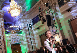 12.01.2018, Hofburg, Wien, AUT, Steirerball, im Bild Moderatorin Angelika Ertl-Marko // during the Styrian Ball in the Hofburg, Vienna, Austria on 2018/01/12, EXPA Pictures © 2017, PhotoCredit: EXPA/ Martin Huber