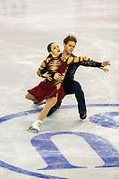 KELOWNA, BC - OCTOBER 26: American figure skaters Caroline Green and Michael Parsons compete during ice dance free dance of Skate Canada International held at Prospera Place on October 26, 2019 in Kelowna, Canada. (Photo by Marissa Baecker/Shoot the Breeze)