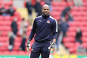 Reading goalkeeper Ali Al Habsi (26) during the Sky Bet Championship match between Charlton Athletic and Reading at The Valley, London, England on 27 February 2016.