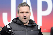 Oldham Athletic manager David Dunn  during the Sky Bet League 1 match between Coventry City and Oldham Athletic at the Ricoh Arena, Coventry, England on 19 December 2015. Photo by Alan Franklin.