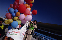 SPECIAL OLYMPICS AFGHANISTAN 2005..Kabul, 23 August 2005..Opening Games at Ghazi Stadium