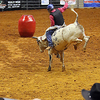 Libby Ezell | BUY AT PHOTOS.DJOURNAL.COM<br /> Bull Riding event at Friday's NE Mississippi Championship Rodeo