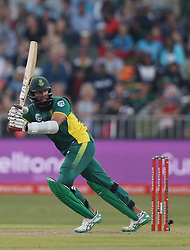 Hashim Amla of South Africa during the 3rd ODI match between South Africa and Australia held at Kingsmead Stadium in Durban, Kwazulu Natal, South Africa on the 5th October  2016<br /> <br /> Photo by: Steve Haag/ RealTime Images