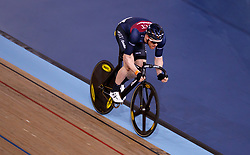 Ed Clancy during the madison time trial during Round One of the 2017/18 Revolution Series at Lee Valley Velo Park, London.