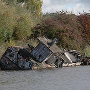 Abandoned Boat, Cheshire