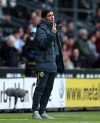 Villarreal CF Manager Marcelino - Mandatory by-line: Robbie Stephenson/JMP - 07966386802 - 29/07/2015 - SPORT - FOOTBALL - Derby,England - iPro Stadium - Derby County v Villarreal CF - Pre-Season Friendly