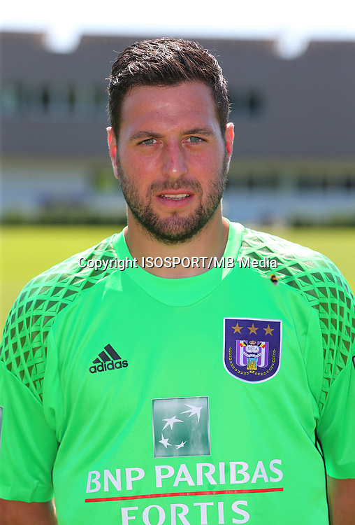 20160719 - Brussels , Belgium / PHOTOSHOOT RSC ANDERLECHT 2016-2017 / <br /> Frank BOECKX<br /> SOCCER / FOOTBALL / VOETBAL / PLOEGVOORSTELLING / TEAM PRESENTATION / PHOTO D'EQUIPE / PLOEGFOTO / TEAM PICTURE / FOTOSHOOT / RSCA / <br /> PICTURE BY VINCENT VAN DOORNICK /  ISOSPORT