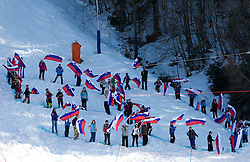 50-years of Vitranc Cup during  Men's Giant Slalom of FIS Ski World Cup Alpine Kranjska Gora, on March 5, 2011 in Vitranc/Podkoren, Kranjska Gora, Slovenia.  (Photo By Vid Ponikvar / Sportida.com)