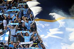 """Foto LaPresse/Filippo Rubin<br /> 20/05/2018 Ferrara (Italia)<br /> Sport Calcio<br /> Spal - Sampdoria - Campionato di calcio Serie A 2017/2018 - Stadio """"Paolo Mazza""""<br /> Nella foto: I TIFOSI DELLA SPAL<br /> <br /> Photo LaPresse/Filippo Rubin<br /> May 20, 2018 Ferrara (Italy)<br /> Sport Soccer<br /> Spal vs Sampdoria - Italian Football Championship League A 2017/2018 - """"Paolo Mazza"""" Stadium <br /> In the pic: SPAL SUPPORTERS"""