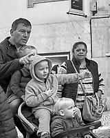 Triple Decker. Morning Street Photography in Lisbon. Image taken with a Leica CL camera and 23 mm f/2 lens.