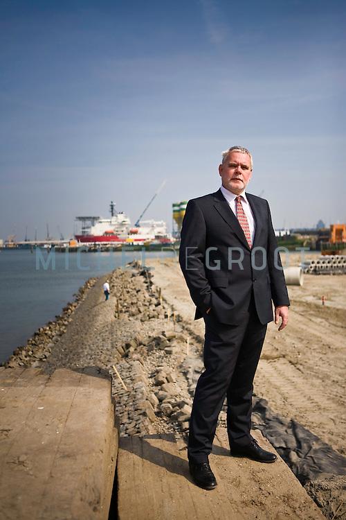 Hendrik Jan Kluiver in Rotterdam, The Netherlands  op 15 April, 2009.  (Photo by Michel de Groot)