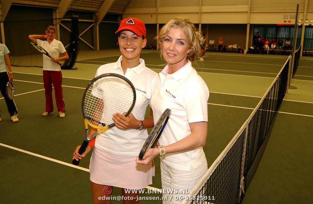 Tennisclinic Hilversum Open 2004, Sandy Kandau + Brigitte Nijman