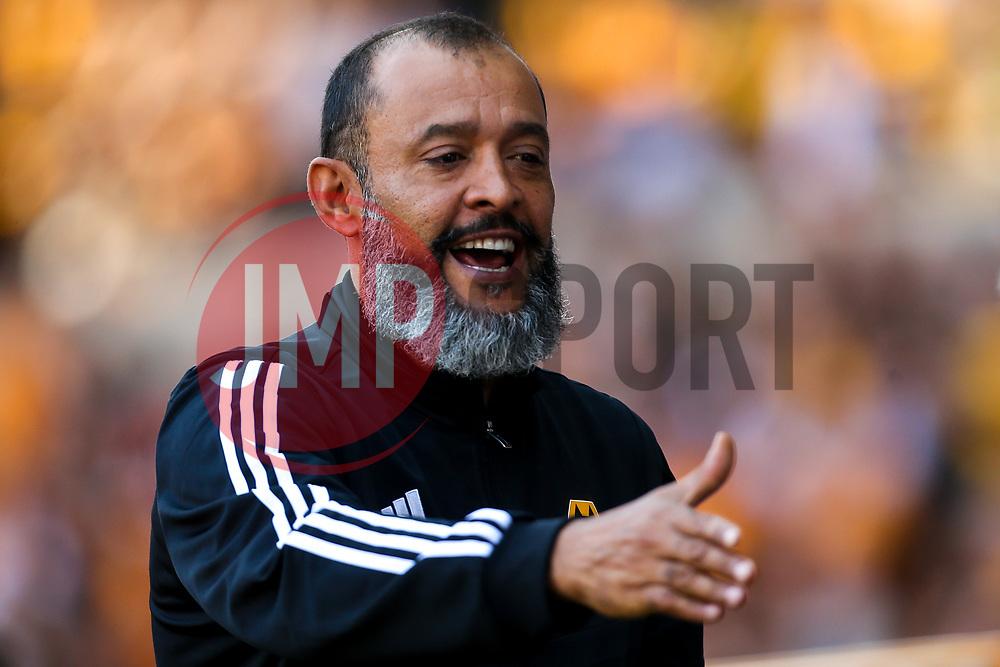 Wolverhampton Wanderers manager Nuno - Mandatory by-line: Robbie Stephenson/JMP - 25/08/2019 - FOOTBALL - Molineux - Wolverhampton, England - Wolverhampton Wanderers v Burnley - Premier League