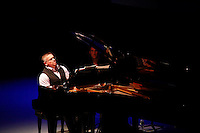Tony De Mare performing .Liaisons: Reimagining Sondheim From the Piano, at Symphony Space on April 21, 2012 ..Photo Credit ; Rahav Iggy Segev
