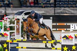 Bost Roger Yves, FRA, Castleforbes Talitha<br /> Stuttgart - German Masters 2019<br /> © Hippo Foto - Stefan Lafrentz<br /> 14/11/2019