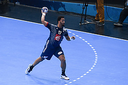 N'Guessan Thimothey during 25th IHF men's world championship 2017 match between France and Slovenia at Accord hotel Arena on january 24 2017 in Paris. France. PHOTO: CHRISTOPHE SAIDI / SIPA / Sportida