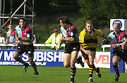 Peter Spurrier Sports  Photo. .Tel 44 (0) 7973 819 551.Photo Peter Spurrier.Quins v Wasps 22-9-01.Dan Luger..[Mandatory Credit, Peter Spurrier/ Intersport Images][Mandatory Credit, Peter Spurrier/ Intersport Images]