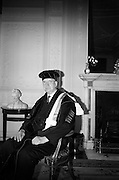 19/05/1966<br /> 05/19/1966<br /> 19 May 1966<br /> President Eamon de Valera receives Honorary Doctorate from the University of Louvain, Belgium at a conferring ceremony at the Department of External Affairs in Dublin. Picture shows President de Valera after the conferring ceremony.