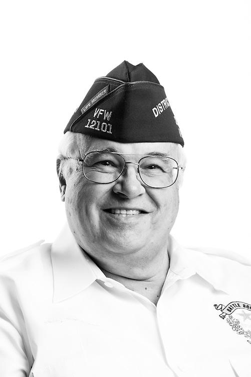 Gerald L. Peterson<br /> Air Force<br /> E-8<br /> C141 Flight Engineer<br /> Feb. 1966 - Apr. 1998<br /> <br /> Veterans Portrait Project<br /> St. Louis, MO