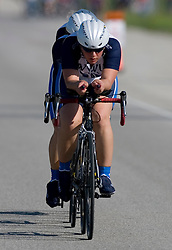 Western Washington University competes in the Women's Division II team time trial. The 2007 USA Cycling Collegiate Road Championship team time trial were held in Lawrence, Kansas on May 11, 2007.
