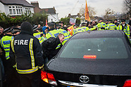24 Nov 2014 - FBU protest against Penny Mourdant MP at West Norwood.