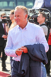 15.07.2014, Flughafen, Muenchen, GER, FIFA WM, Empfang der Weltmeister in Deutschland, Finale, im Bild Vorstandsvorsitzender Karl-Heinz Rummenigge (FC Bayern Muenchen) // during Celebration of Team Germany for Champion of the FIFA Worldcup Brazil 2014 at the Flughafen in Muenchen, Germany on 2014/07/15. EXPA Pictures © 2014, PhotoCredit: EXPA/ Eibner-Pressefoto/ Kolbert  *****ATTENTION - OUT of GER*****