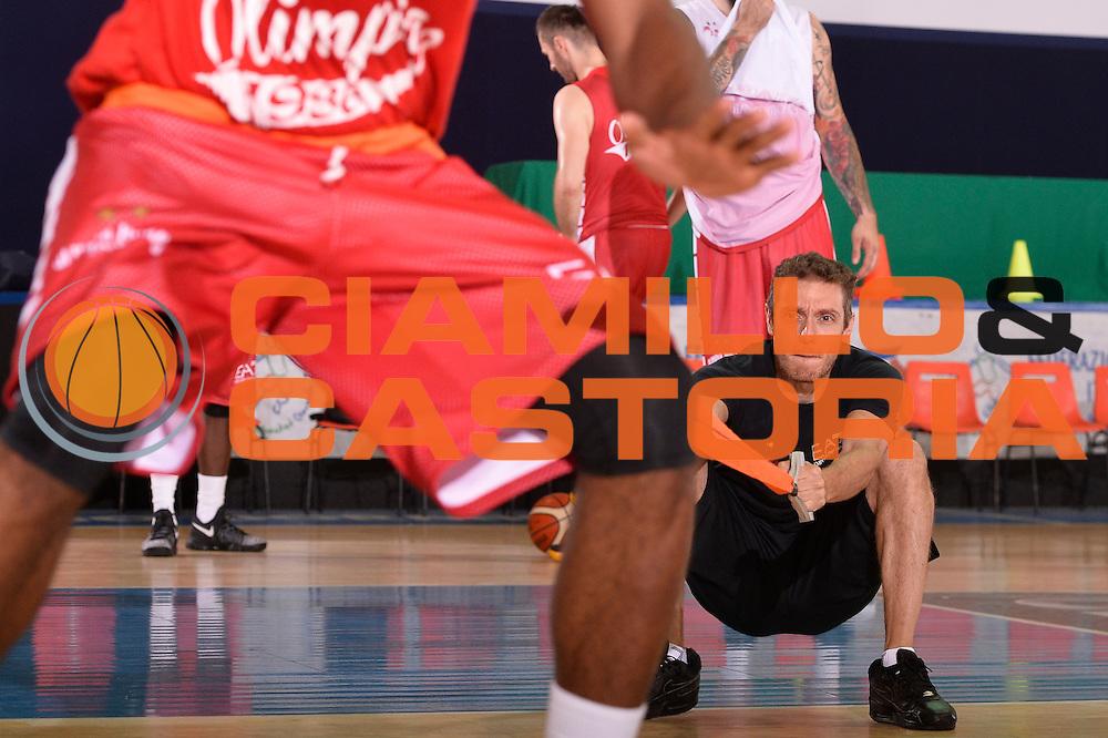 Luca Agnello <br /> EA7 Emporio Armani Olimpia Milano allenamento<br /> Lega Basket Serie A 2016/2017<br /> Bormio 03/09/2016<br /> Foto Ciamillo-Castoria
