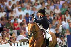 Ledermann Alexandra (FRA) - Rochet M<br /> Nations Cup Hickstead 1999<br /> Photo © Dirk Caremans