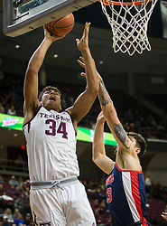 Ole Miss vs. Texas A&M in a NCAA basketball game Tuesday, Jan. 16th, 2018, in College Station, Texas.