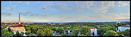 Panoramic View of Washington, DC.  Includes The Capitol, Washington Monument, Smithsonian Mall, Organization of American States, Jefferson Memorial, Reagan National Airport, and Lincoln Memorial..Print Sizes (inches): 15x4.5; 24x7.5; 36x10.5; 48x14; 60x17.5; 72x21