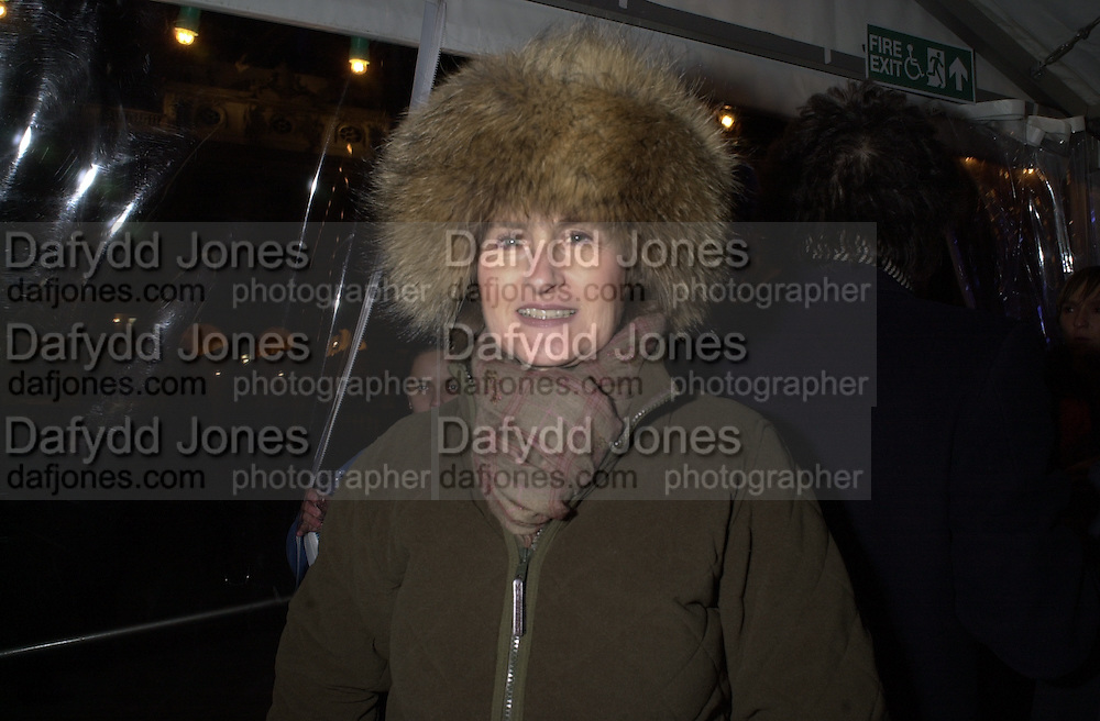 Jill Ritblat. Inauguration of the Somerset House Ice Rink. Somerset House. 13 December 2000. © Copyright Photograph by Dafydd Jones 66 Stockwell Park Rd. London SW9 0DA Tel 020 7733 0108 www.dafjones.com