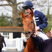 Words Come Easy and Jimmy Fortune winning the 2.30 race