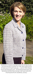 BARBARA CASSANI founder and CEO of Go Fly UK at a photocall in London on 16th April 2002.OYZ 8