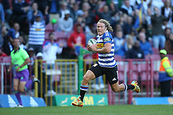 Werner Kok of Western Province heads for the try line during the Currie Cup Premier Division match between the DHL Western Province and the Sharks held at the DHL Newlands Rugby Stadium in Cape Town, South Africa on the 3rd September  2016<br /> <br /> Photo by: Shaun Roy / RealTime Images