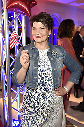 Gayle Tufts bei der Wahlparty zur US-Wahlnacht 2016 in der Hauptstadtrepräsentanz der Bertelsmann SE & Co KGaA in Berlin<br /> <br /> / 081116<br /> <br /> *** Election Party at the Bertelsmann House in Berlin, Germany; November 8th, 2016 ***