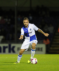 Peter Hartley - Mandatory by-line: Neil Brookman/JMP - 11/08/2016 - FOOTBALL - Memorial Stadium - Bristol, England - Bristol Rovers v Cardiff City - EFL League Cup