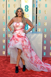 February 11, 2019 - London, New York, United Kingdom of Great Britain and Northern Ireland - Tiziana Rocca arriving at the EE British Academy Film Awards on at the Royal Albert Hall on February 10 2019 in London, England  (Credit Image: © Famous/Ace Pictures via ZUMA Press)
