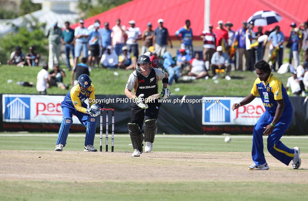 SB Styrus. New Zealand Black Caps v Sri Lanka, international exhibition Twenty 20 cricket match, Central Broward Regional Park, Florida, United States of America. 22 May 2010. Photo: Barry Bland/PHOTOSPORT