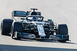 February 28, 2019 - Montmelo, Barcelona, Calatonia, Spain - Valtteri Bottas of Mercedes AMG Petronas Formula One Team seen in action during the 3rd journey of second week F1 Test Days in Montmelo circuit. (Credit Image: © Javier Martinez De La Puente/SOPA Images via ZUMA Wire)