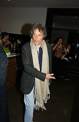 SIR TOM STOPPARD at the opening of The National Cafe and an exclusive private view of the National Gallery's Valazquez Exhibition, at The National Gallery, Trafalgar Square, London on 26th October 2006.<br /><br />NON EXCLUSIVE - WORLD RIGHTS