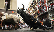 RUN OF THE BULLS - SAN FERMIN - ENCIERRO