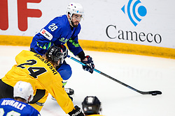 Jurij Repe of Slovenia during ice hockey match between Slovenia and Lithuania at IIHF World Championship DIV. I Group A Kazakhstan 2019, on May 5, 2019 in Barys Arena, Nur-Sultan, Kazakhstan. Photo by Matic Klansek Velej / Sportida