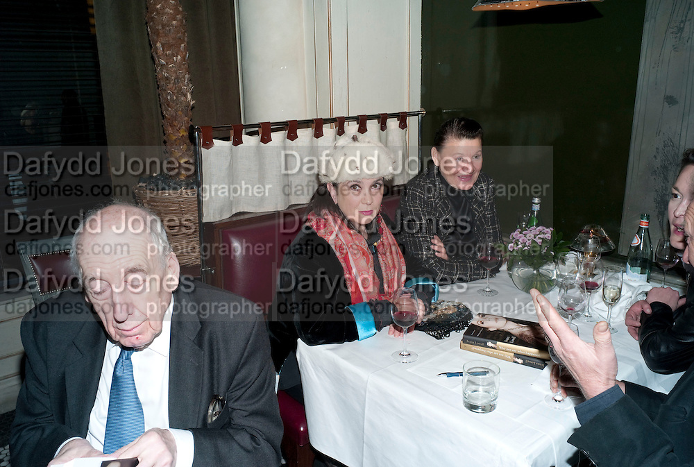 FRANCIS WYNDHAM; SUSANNAH MAXMILLAN; LUCY KOHLMYER, The launch party of BloomsburyÕs publication of Why not say what happened?, a memoir by Ivana Lowell  hosted by Ivana Lowell and Catherine Ostler, at WheelerÕs of St. JamesÕs. London.  -DO NOT ARCHIVE-© Copyright Photograph by Dafydd Jones. 248 Clapham Rd. London SW9 0PZ. Tel 0207 820 0771. www.dafjones.com.<br /> FRANCIS WYNDHAM; SUSANNAH MAXMILLAN; LUCY KOHLMYER, The launch party of Bloomsbury's publication of Why not say what happened?, a memoir by Ivana Lowell  hosted by Ivana Lowell and Catherine Ostler, at Wheeler's of St. James's. London.  -DO NOT ARCHIVE-© Copyright Photograph by Dafydd Jones. 248 Clapham Rd. London SW9 0PZ. Tel 0207 820 0771. www.dafjones.com.