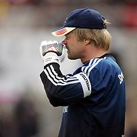 Fotball<br /> Bundesliga 2003/04<br /> Bayern München v Werder Bremen<br /> 8.mai 2004<br /> Foto: Digitalsport<br /> NORWAY ONLY<br /> Oliver Kahn, Bayern