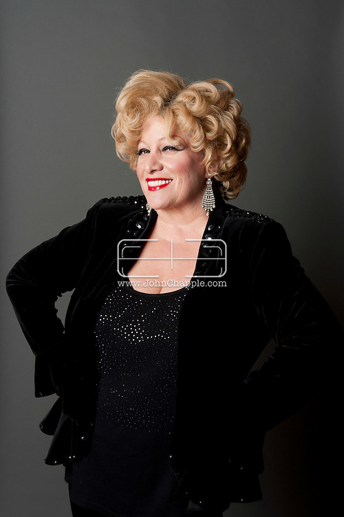 February 20th, 2012, Las Vegas, Nevada. The 21st Annual Reel Awards in Las Vegas where celebrity lookalikes show off their talents. Pictured is Sherie Rae Parker as Bette Midler..PHOTO © JOHN CHAPPLE / www.johnchapple.com.