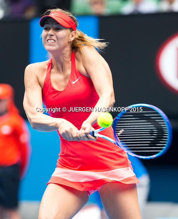 Maria Sharapova (RUS)<br /> <br /> Tennis - Australian Open 2015 - Grand Slam ATP / WTA -  Melbourne Olympic Park - Melbourne - Victoria - Australia  - 27 January 2015.