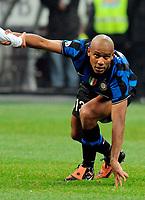 Maicon<br /> Inter-Roma 1-1<br /> Campionato di calcio serie A 2009/2010<br /> Milano, 08.11.2009<br /> Foto Paolo Bona Insidefoto
