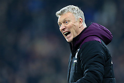 13th January 2018 - Premier League - Huddersfield Town v West Ham United - West Ham manager David Moyes - Photo: Simon Stacpoole / Offside.