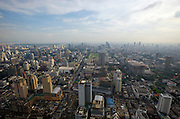 "Baiyoke 2 Tower, Bangkok's highest skyscraper, offers a splendid panoramic view over the ""City of Angels""."